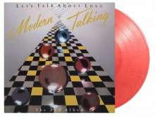 Modern Talking: Let's Talk About Love (The 2nd Album) (Limited Numbered 35th Anniversary Edition) (Cherry Colored Vinyl), LP