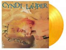 Cyndi Lauper: True Colors (180g) (Limited Numbered Edition) (Flaming Vinyl), LP