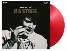 Elvis Presley (1935-1977): On Stage (180g) (Limited Numbered Edition) (Transparent Red Vinyl), LP