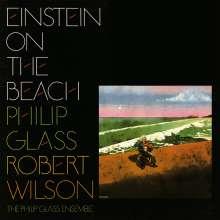 Philip Glass (geb. 1937): Einstein on the Beach (180g), 4 LPs