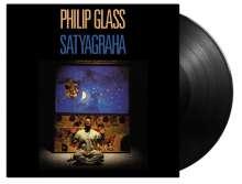 Philip Glass (geb. 1937): Satyagraha (Oper in 3 Akten) (180g, limitiert), 3 LPs