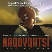 Philip Glass (geb. 1937): Naqoyqatsi - Life as War (Filmmusik) (180g), 2 LPs