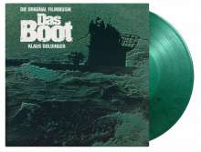 Filmmusik: Das Boot (180g) (Limited Numbered Edition) (Camouflage - Crystal Clear & Translucent Green & Black Mixed Vinyl), LP