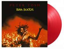 Peter Tosh: Bush Doctor (remastered) (180g) (Limited Numbered Edition) (Transparent Red Vinyl) , LP