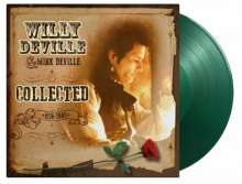 Willy DeVille: Collected (180g) (Limited Numbered Edition) (Transparent Green Vinyl), 2 LPs