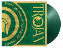 Right On Time - Trojan Rock Steady (180g) (Limited Numbered Edition) (Translucent Green Vinyl), 2 LPs