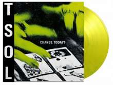 TSOL (T.S.O.L.): Change Today? (180g) (Limited Numbered Edition) (Lime Green Vinyl), LP