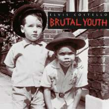 Elvis Costello: Brutal Youth (180g) (Limited Numbered Edition) (Transparent Red Vinyl), 2 LPs