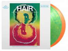 Filmmusik: Hair (Original Broadway Cast) (180g) (Limited Numbered Edition) (LP1: Green & Yellow Swirled Vinyl/LP2: Orange & Yellow Swirled Vinyl), 2 LPs