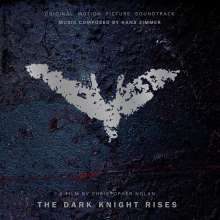 Filmmusik: The Dark Knight Rises (180g) (Limited Numbered Edition) (Silver & Black Marbled Vinyl), LP