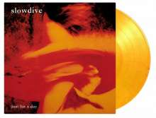 Slowdive: Just For A Day (180g) (Limited Numbered Edition) (Flaming Colored Vinyl), LP