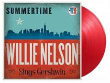 Willie Nelson: Summertime: Willie Nelson Sings Gershwin (180g) (Limited Numbered Edition) (Transparent Red Vinyl), LP