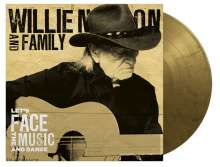 Willie Nelson: Let's Face The Music And Dance (180g) (Limited Numbered Edition) (Black & Gold Marbled Vinyl), LP