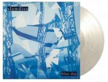 Slowdive: Blue Day (180g) (Limited Numbered Edition) (White Marbled Vinyl), LP