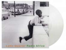 Latin Quarter: Radio Africa (180g) (Limited Numbered Edition) (Crystal Clear Vinyl), 2 LPs