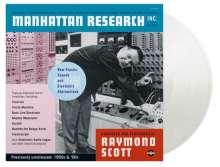 Raymond Scott (1908-1994): Manhattan Research (180g) (Limited Numbered Edition) (Transparent Vinyl), 3 LPs