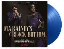 Filmmusik: Ma Rainey's Black Bottom (180g) (Limited Numbered Edition) (Translucent Blue Vinyl), 2 LPs
