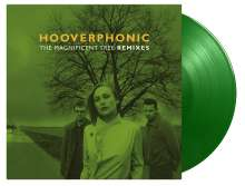 """Hooverphonic: Magnificent Tree Remixes (180g) (Limited Numbered Edition) (Solid Light Green Vinyl) (45 RPM), Single 12"""""""
