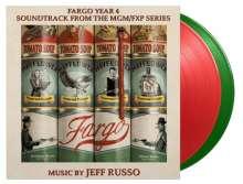Filmmusik: Fargo Year 4 (180g) (Limited Numbered Edition) (LP 1: Translucent Red Vinyl/LP 2: Translucent Green Vinyl), 2 LPs