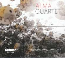 Alma Quartett - Debussy / Ravel / Dutilleux, CD