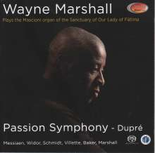 Wayne Marshall - Passion Symphony (Dupre), Super Audio CD