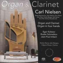 Musik für Orgel & Klarinette, Super Audio CD