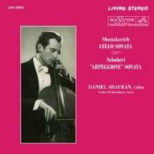 Dmitri Schostakowitsch (1906-1975): Sonate für Cello & Klavier op.40 (180g), LP