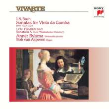 Johann Sebastian Bach (1685-1750): Gambensonaten BWV 1027-1029 (180g), LP