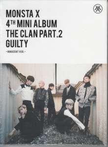Monsta X: The Clan Part. 2 Guilty, 1 CD und 1 Buch