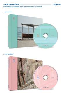 BTS (Bangtan Boys/Beyond The Scene): You Never Walk Alone (Hardcoverbook), 2 CDs