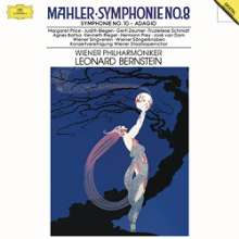 Gustav Mahler (1860-1911): Symphonie Nr.8 (180g), 3 LPs