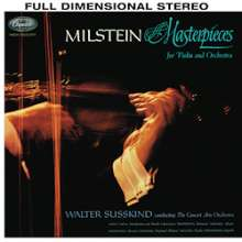 Nathan Milstein - Masterpieces for Violin and Orchestra (180g), LP