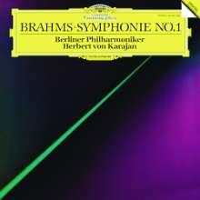 Johannes Brahms (1833-1897): Symphonie Nr.1 (180g/33rpm), LP