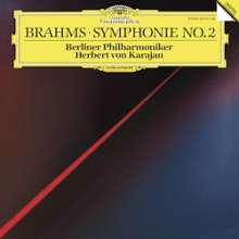 Johannes Brahms (1833-1897): Symphonie Nr.2 (180g/33rpm), LP