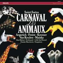 Camille Saint-Saens (1835-1921): Karneval der Tiere (180g), 2 LPs
