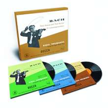 Johann Sebastian Bach (1685-1750): Sonaten & Partiten für Violine BWV 1001-1006 (180g/33rpm), 3 LPs