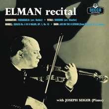 Mischa Elman - Recital (180g), LP