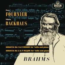 Johannes Brahms (1833-1897): Cellosonaten Nr.1 & 2 (180g / 33rpm), LP