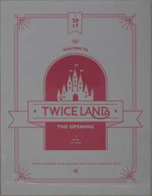 Twice (South Korea): Twiceland: The Opening.., 3 DVDs und 1 Buch