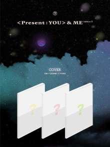 Got7: Present : You & Me (Diverse Cover), 3 CDs