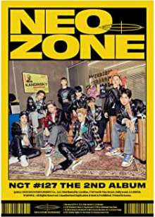 Neo Culture Technology 127: The Second Album NCT #127 Neo Zone (N Version), 1 CD und 1 Buch
