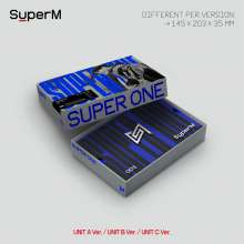 SuperM: Super One (Limited Unit C Version), 1 CD und 1 Buch