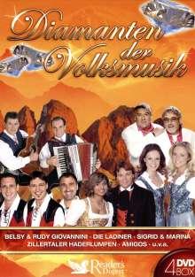 Diamanten der Volksmusik, 4 DVDs