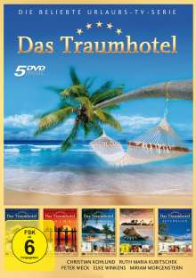 Das Traumhotel Box 2, 5 DVDs