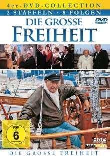 Die grosse Freiheit Staffel 1+2, 4 DVDs