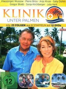 Klinik unter Palmen (Komplette Serie), 12 DVDs