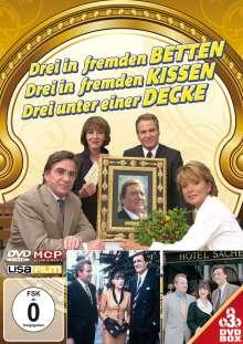 Drei in fremden Betten / Drei in fremden Kissen / Drei unter einer Decke, 3 DVDs