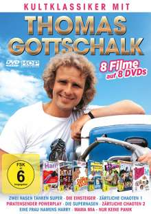 Thomas Gottschalk - Kultklassiker, 8 DVDs