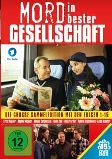 Mord in bester Gesellschaft - Folge 1-15, 15 DVDs