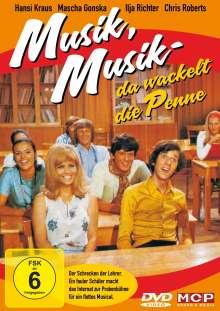 Musik, Musik - Da wackelt die Penne, DVD